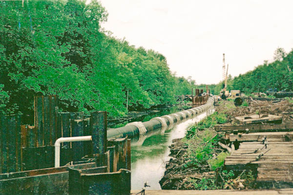 Waff Contracting, Inc  - Edenton, NC - Freshwater Pipeline